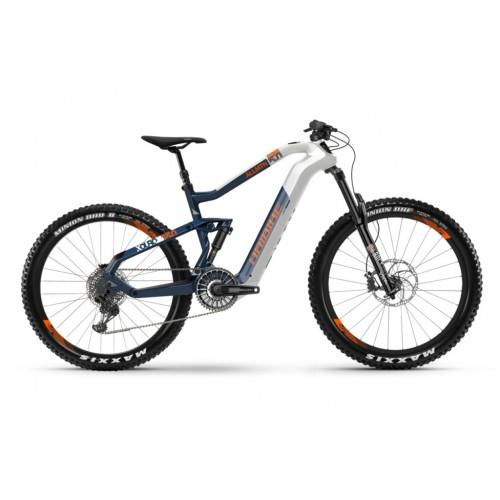 XDURO AllMtn 5.0 i630Wh 11-v. NX 19 HB Flyon bianco/blu/arancione
